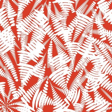Abstract blot seamless pattern. Trendy paint abstract seamless pattern. Art background for brochure, poster, flyer, presentation design. Illustration