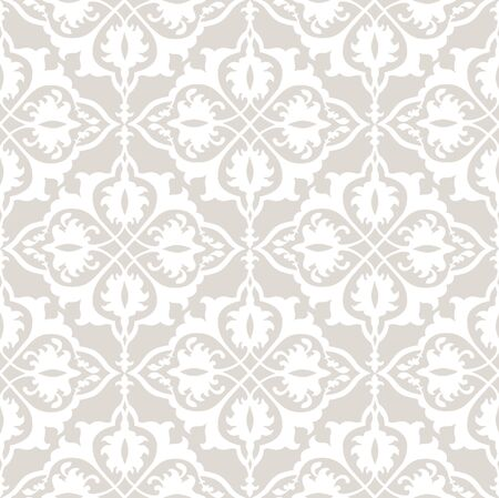 Flourish tiled oriental ethnic background. Arabic ornament with fantastic flowers and leaves. Wonderland motives of the paintings of ancient Indian fabric patterns. Floral seamless pattern. Branch with leaves ornament.