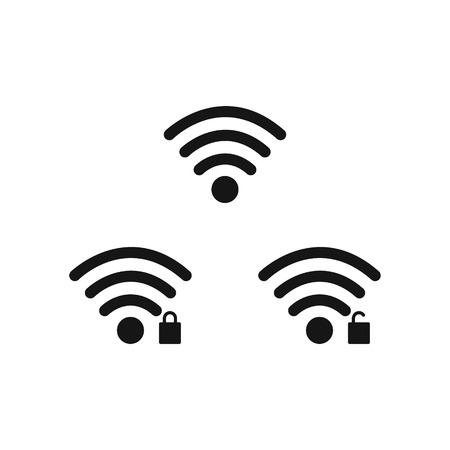 Mobile phone system icons. Wifi signal strength, battery charge level. Vector illustration. Vektoros illusztráció