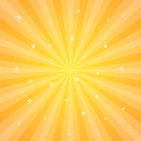 Sun rays vector illustration. Rays background. Sun ray theme abstract wallpaper. Design elements in vintage style. Web banner. Vector illustration Illustration