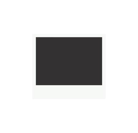 Retro realistische vector fotolijstjes geplaatst op transparante achtergrond.