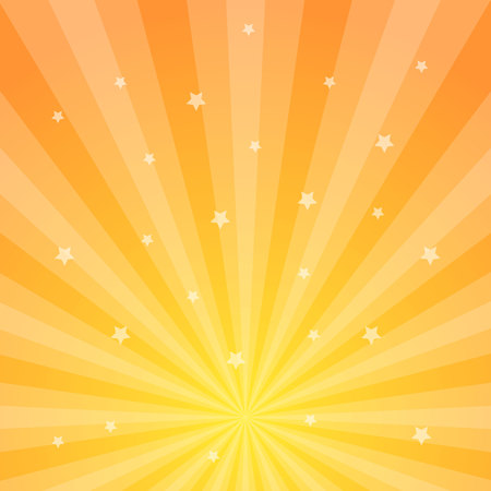 Sun rays vector illustration. Rays background. Sun ray theme abstract wallpaper. Design elements in vintage style. Web banner. Vector illustration Vectores