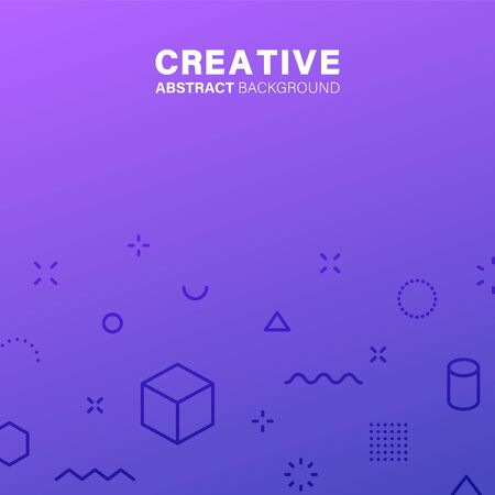 Abstract background. Geometric patterns. Gradients covers design. Business brochure, applicable for placards, banners, posters, flyers Vector illustration