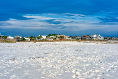 Beautiful view of Mexico beach