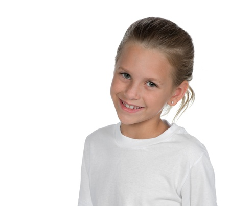 beautiful preteen girl: Portrait of adorable girl