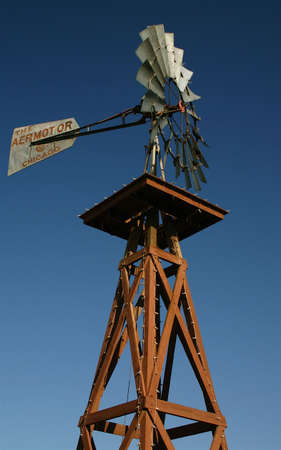 Windmill tower Stock Photo