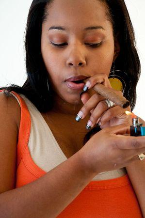 African American Girl photo