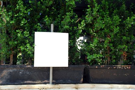 blank sign with a copy space area Stock Photo - 7052840