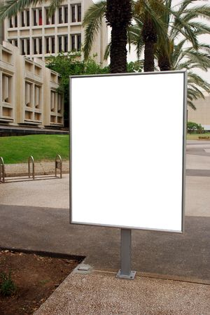 blank sign with a copy space area Stock Photo - 7052964