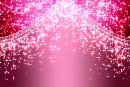 pink wall paper: shiny Background