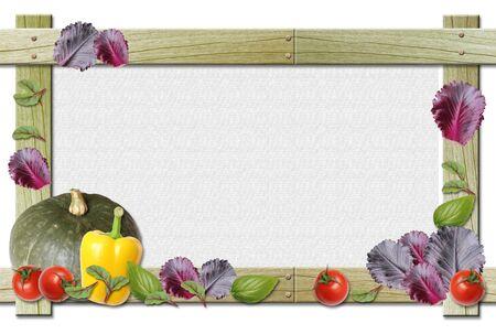 野菜フレーム