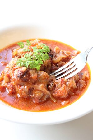 stew: alla Cacciatora Stock Photo
