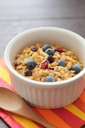 朝食用シリアル 写真素材