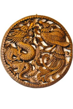 dragon pheonix photo