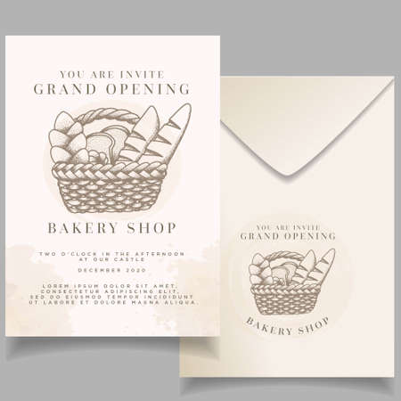 Beautiful Elegant event invitation wedding card editable template Standard-Bild - 154590024