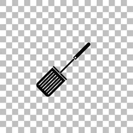 Cutters. Black flat icon on a transparent background. Pictogram for your project Ilustrace