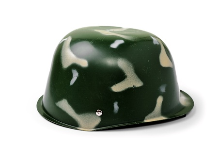 An image f toy helmet on white background Stock Photo - 12041731