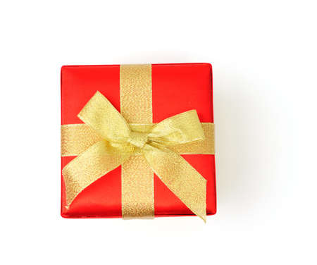 An image of gift box on white