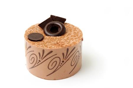 An image of a fresh tasty chocolate cake