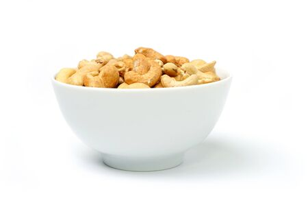An image of tasty cashew nuts in a bowl Stock Photo - 12935461