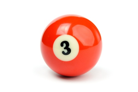 An image of a red billiard ball