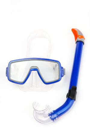 An image of mask and snorkel for diving