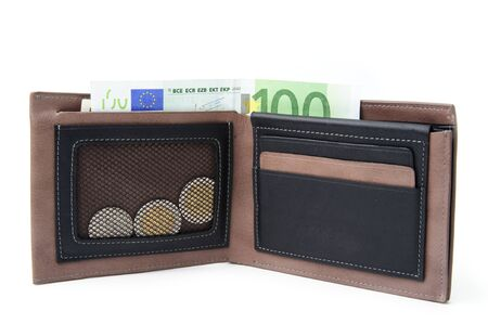 An image of money in the wallet Stock Photo - 14129212