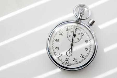 chronometer: An image of Stopwatch on white paper