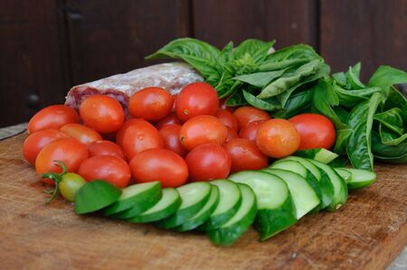 An image of fresh tasty food on the table Stock Photo - 16460491