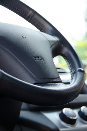 ruder: Auto Ruder Nahaufnahme Lizenzfreie Bilder