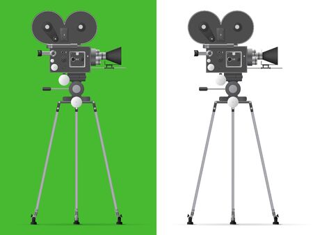 Detailed camera illustration design.