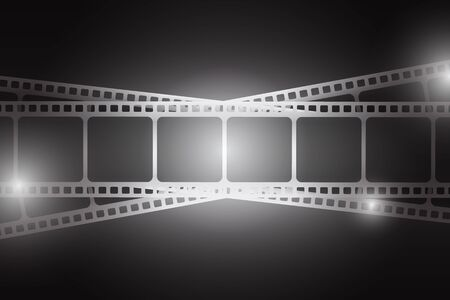 Cinema concept illustration.