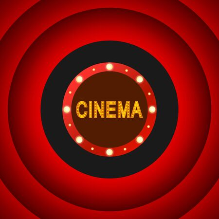 Cinema symbol design.
