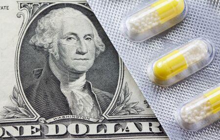 錠剤で 1 ドル紙幣