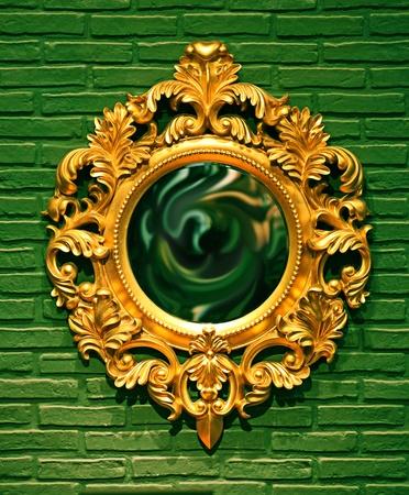 Vintage Mirror Stock Photo - 11573821