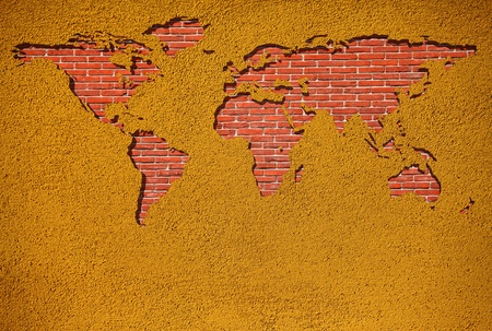 Brick Wall World photo