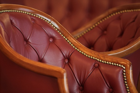 Classic Interior Detail Leather Armchair photo
