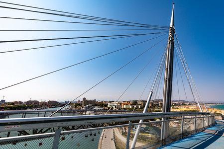 Ponte del Mare, Pescara, Italy 05 Stock Photo