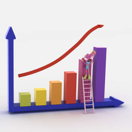 bussiness graph photo