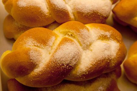Handmade loaves of bread