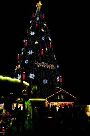 Christmas market in Dortmund, Germany