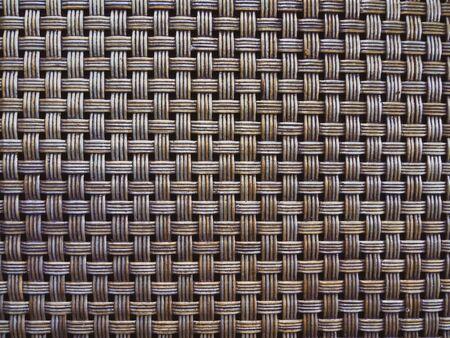 Basketry pattern texture background. Brown rattan pattern background.