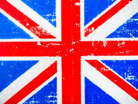 United Kingdom UK flag grunge texture background. England, Great Britain, Union Jack background. Stockfoto