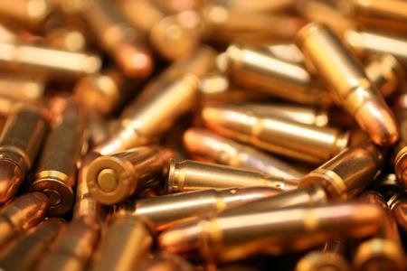 casings: Bullets Close Up