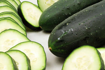 cucumbers: Cucumbers Close Up