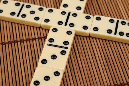 Dominoes Stock Photo - 22495663