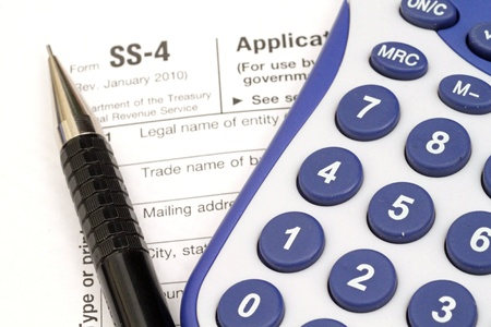 Tax Documents With Accessories