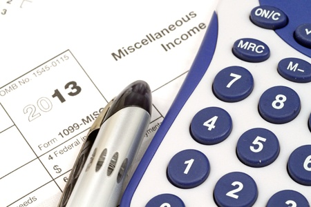 Tax Documents With Accessories Stock Photo - 22495838