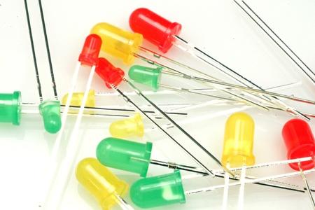 leds: LEDs CLose Up Stock Photo