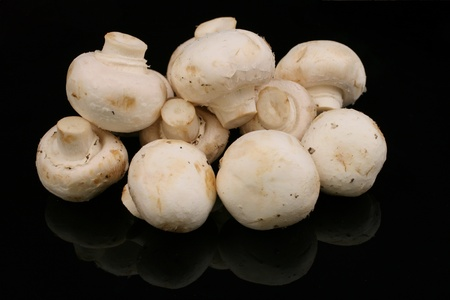 White Button Mushrooms Stock Photo - 22496107